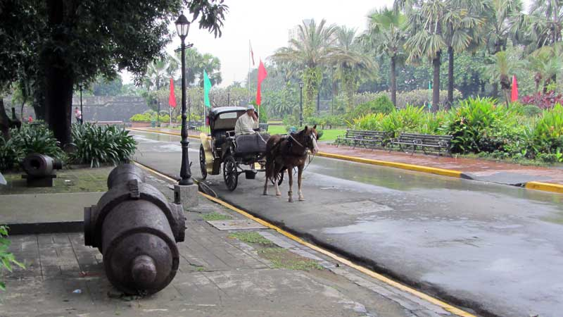 Fort Santiago Horse carriage