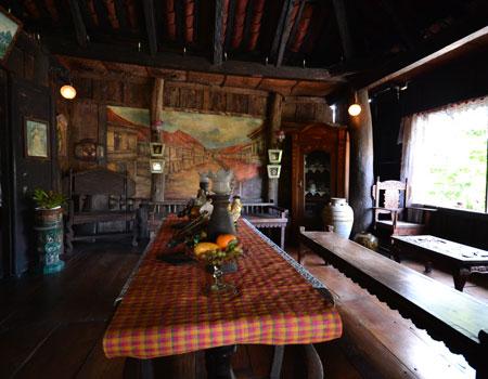 Inside Yap sandiego ancestral house